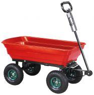 Chariot remorque basculante dumper 300kg