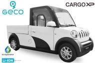 Voiture électrique CEE Geco CARGO XP de 7,5 kW lithium.