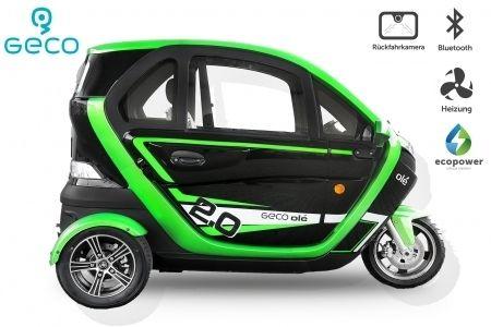 Voiture électrique Geco Ole 2000-V5 2Kw