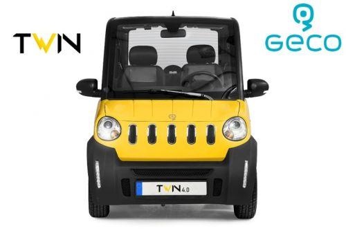 Voiture électrique CEE Geco TWIN 4.0 3.5kW
