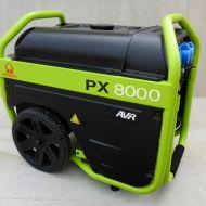 Groupe électrogène HONDA PRAMAC PX8000 230V 6 KVA