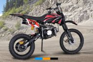 MOTO 125cc cross bike roues17/14
