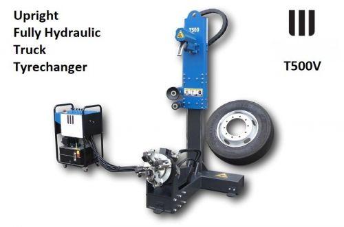 Machine, Démonte pneu, PL, verticale, automatique, hydraulique, 19-26'' T500V