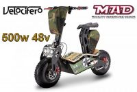Scooter électrique 6'' Velocifero 500W 48V MAD OFFROAD