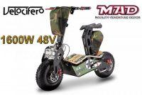 Scooter électrique 6'' Velocifero 1600W 48V MAD
