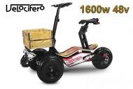 Scooter électrique Velocifero 1600W 48V MAD TRUCK  6'' .