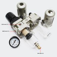 KIT de traitement d'air, Filtre, Régulateur, Lubrificateur