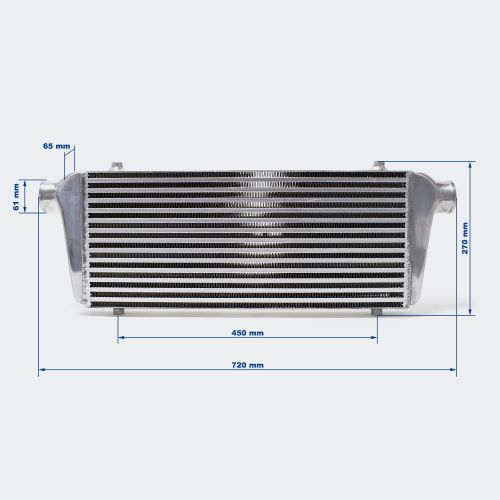 Radiateur d'air de suralimentation Intercooler 006 UNIVERSEL